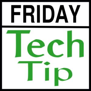 Tech Tip Friday icon